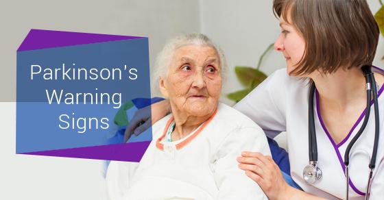 Parkinson's Warning Signs