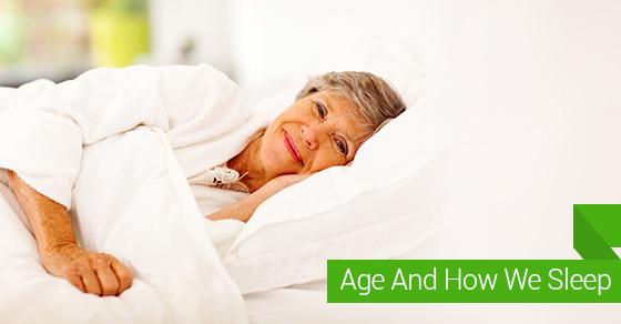 Age And How We Sleep