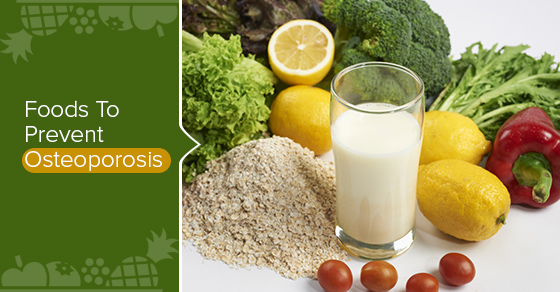 Foods To Prevent Osteoporosis