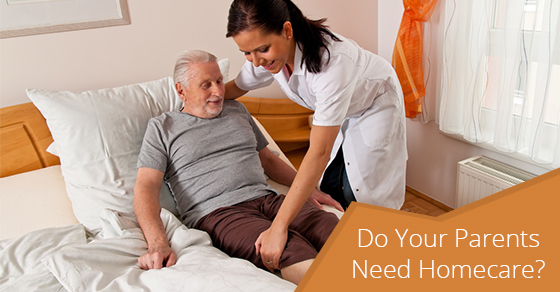 Do Your Parents Need Homecare?