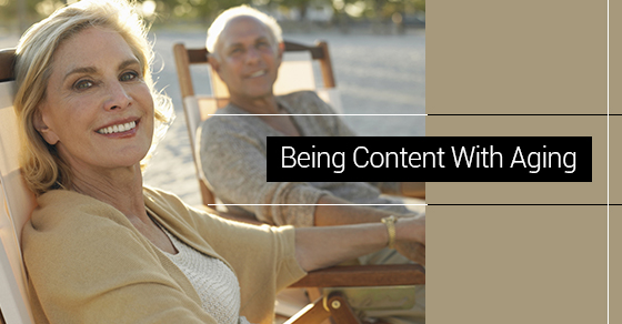 Being Content With Aging
