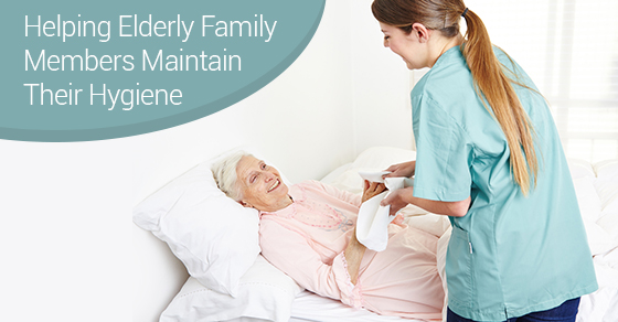 Helping Elderly Family Members Maintain Their Hygiene
