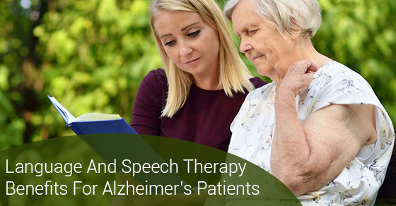 Language And Speech Therapy Benefits For Alzheimer's Patients