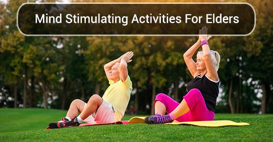 Mind Stimulating Activities For Elders